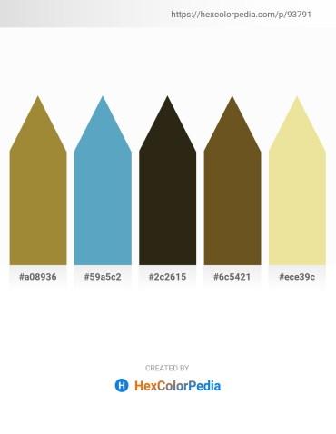 Palette image download - Gray – Steel Blue – Hot Pink – Sienna – Pale Goldenrod