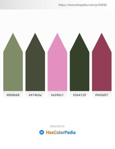 Palette image download - Gray – Dark Olive Green – Orchid – Dark Olive Green – Dark Olive Green