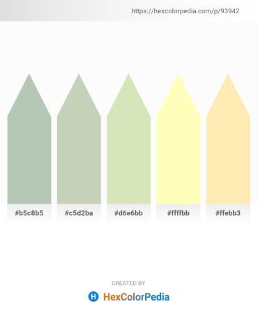 Palette image download - Dark Sea Green – Dark Sea Green – Beige – Lemon Chiffon – Moccasin