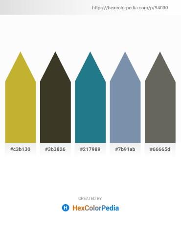 Palette image download - Rosy Brown – Firebrick – Dim Gray – Light Slate Gray – Dim Gray