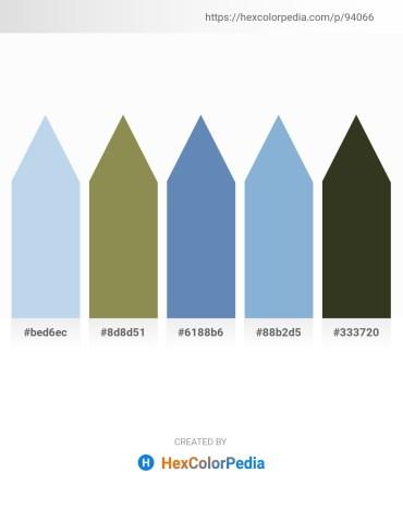Palette image download - Light Blue – Dark Khaki – Steel Blue – Light Steel Blue – Dark Olive Green