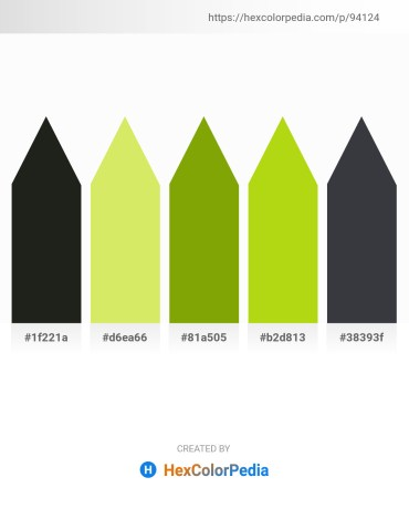 Palette image download - Black – Khaki – Olive – Dark Khaki – Dark Slate Gray