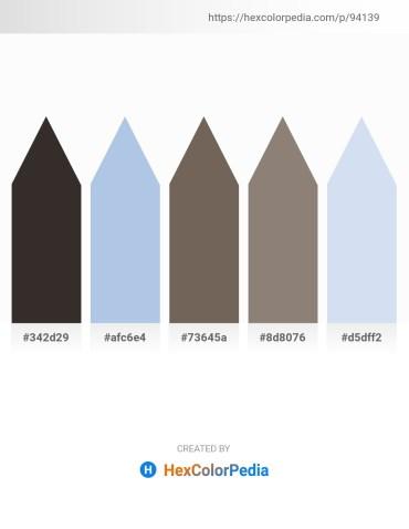 Palette image download - Black – Light Blue – Dim Gray – Gray – Lavender
