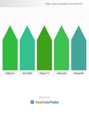 Palette image download - Lime Green – Medium Sea Green – Forest Green – Medium Sea Green – Medium Sea Green