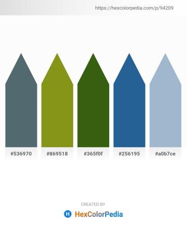 Palette image download - Slate Gray – Olive Drab – Forest Green – Steel Blue – Light Steel Blue