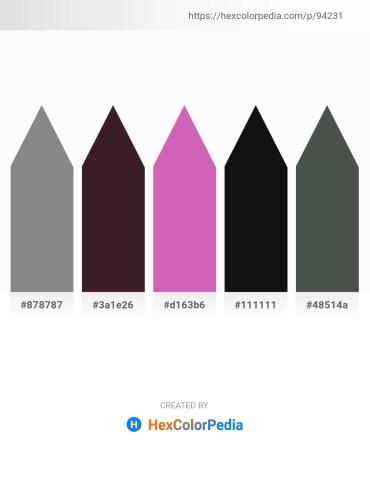 Palette image download - Gray – Dark Orange – Orchid – Black – Dark Slate Gray
