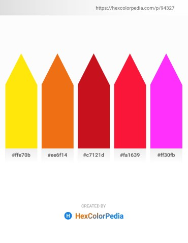 Palette image download - Gold – Chocolate – Crimson – Crimson – Magenta
