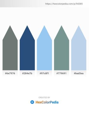Palette image download - Slate Gray – Dark Slate Blue – Sky Blue – Light Slate Gray – Light Blue