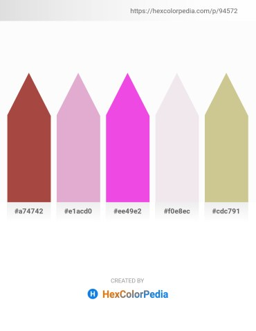 Palette image download - Sienna – Plum – Violet – Thistle – Tan