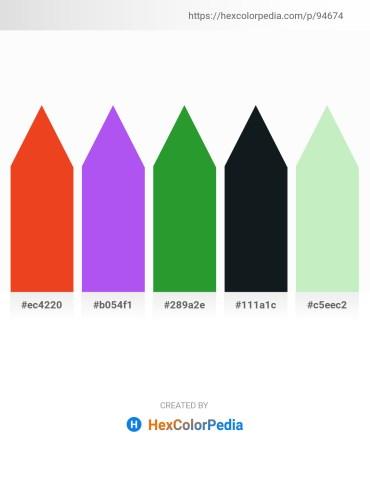 Palette image download - Chocolate – Medium Slate Blue – Forest Green – Dark Slate Gray – Beige