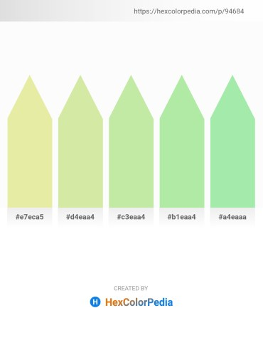 Palette image download - Pale Goldenrod – Pale Goldenrod – Pale Goldenrod – Light Green – Light Green