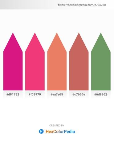 Palette image download - Medium Violet Red – Deep Pink – Dark Salmon – Indian Red – Dark Sea Green