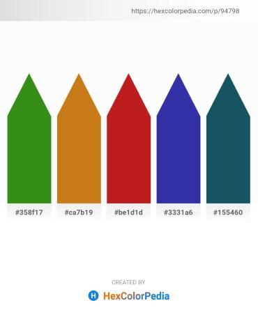 Palette image download - Forest Green – Chocolate – Firebrick – Dark Slate Blue – Sienna