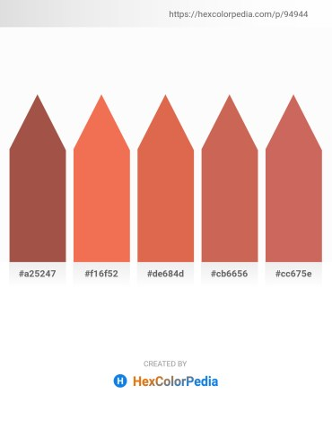 Palette image download - Sienna – Salmon – Peru – Indian Red – Indian Red