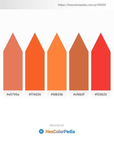 Palette image download - Dark Salmon – Tomato – Coral – Peru – Crimson