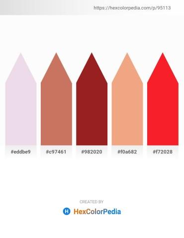 Palette image download - Thistle – Indian Red – Brown – Dark Salmon – Crimson