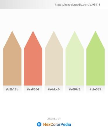 Palette image download - Tan – Dark Salmon – Beige – Beige – Peru