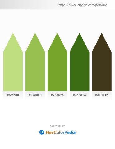 Palette image download - Pale Turquoise – Yellow Green – Olive Drab – Forest Green – Gray