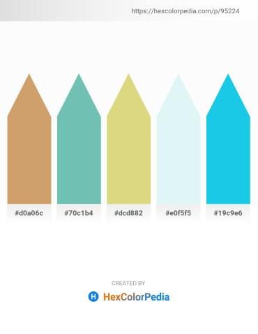 Palette image download - Burlywood – Medium Aquamarine – Burlywood – Powder Blue – Turquoise