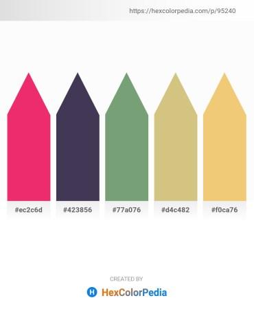 Palette image download - Crimson – Dark Sea Green – Dark Sea Green – Tan – Khaki