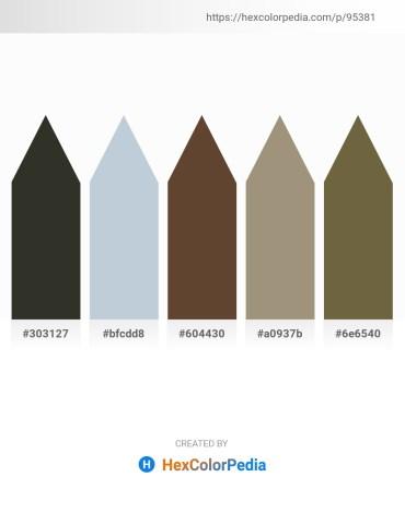 Palette image download - Black – Light Steel Blue – Sienna – Rosy Brown – Dark Olive Green