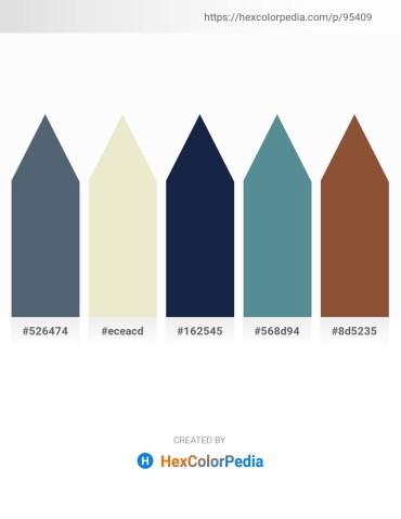 Palette image download - Slate Gray – Beige – Midnight Blue – Cadet Blue – Sienna