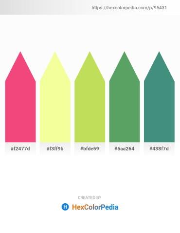 Palette image download - Salmon – Navajo White – Yellow Green – Rosy Brown – Medium Sea Green