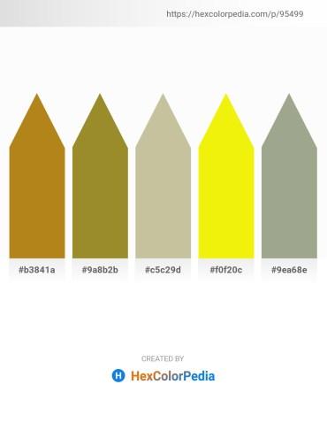 Palette image download - Chocolate – Olive Drab – Tan – Yellow – Dark Sea Green