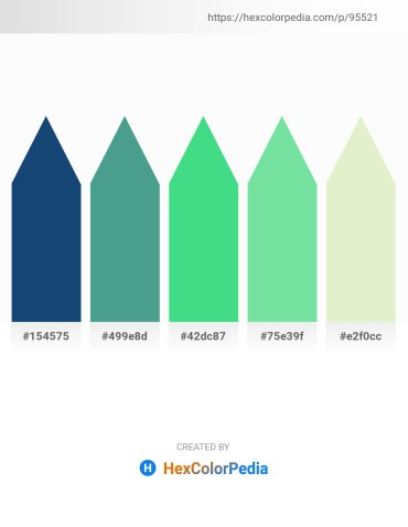Palette image download - Midnight Blue – Cadet Blue – Turquoise – Light Green – Beige