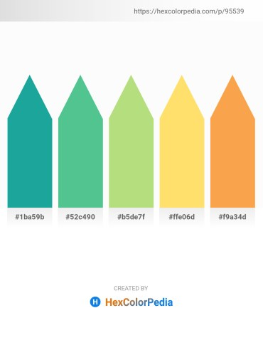 Palette image download - Light Sea Green – Medium Aquamarine – Pale Turquoise – Turquoise – Sandy Brown