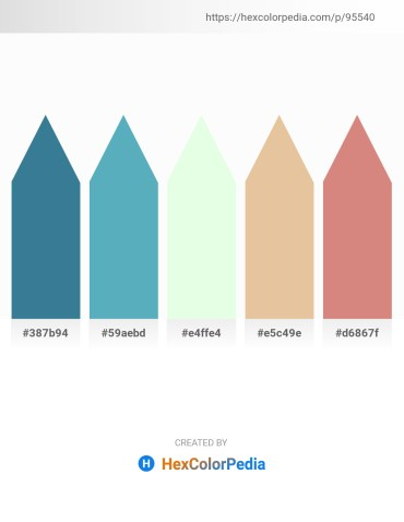 Palette image download - Steel Blue – Steel Blue – Honeydew – Burlywood – Pale Violet Red