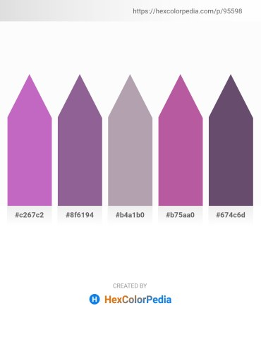 Palette image download - Orchid – Medium Sea Green – Dark Gray – Orchid – Dark Slate Blue