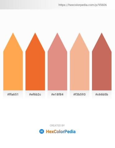 Palette image download - Coral – Chocolate – Dark Salmon – Dark Salmon – Indian Red