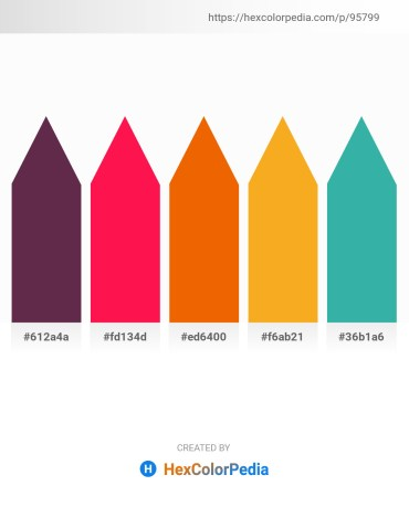 Palette image download - Brown – Crimson – Orange Red – Orange – Medium Sea Green