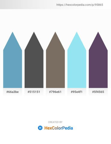 Palette image download - Steel Blue – Dim Gray – Dim Gray – Sky Blue – Dark Slate Blue