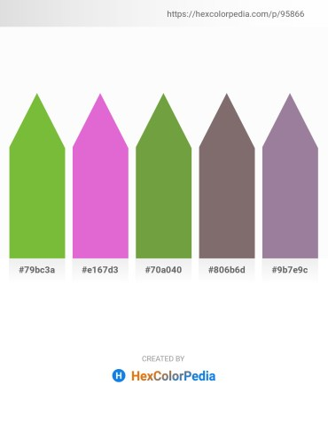 Palette image download - Yellow Green – Orchid – Olive Drab – Dim Gray – Dim Gray