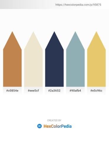 Palette image download - Peru – Beige – Dark Slate Gray – Light Slate Gray – Burlywood