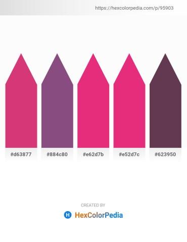 Palette image download - Indian Red – Firebrick – Medium Violet Red – Medium Violet Red – Sienna