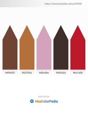 Palette image download - Sienna – Sienna – Plum – Gray – Firebrick