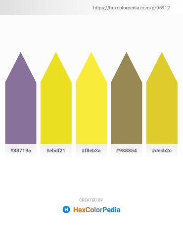 Palette image download - Light Slate Gray – Goldenrod – Yellow – Dark Khaki – Goldenrod