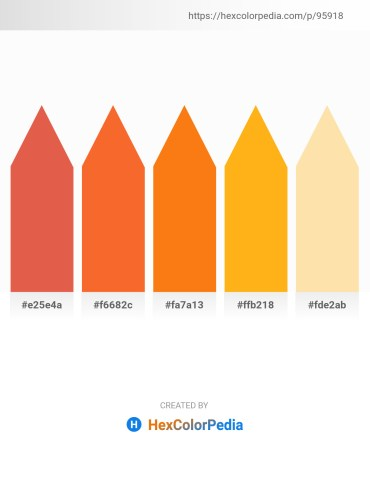 Palette image download - Chocolate – Tomato – Dark Orange – Orange – Navajo White