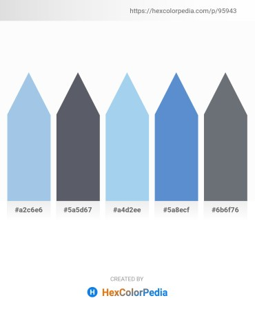 Palette image download - Light Blue – Slate Gray – Sky Blue – Steel Blue – Slate Gray