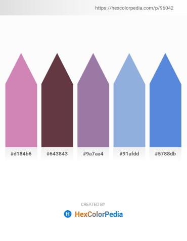 Palette image download - Plum – Rosy Brown – Light Slate Gray – Light Blue – Royal Blue