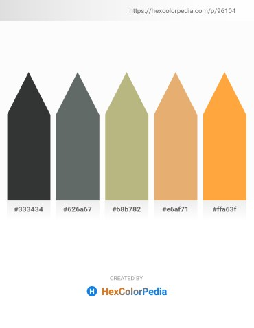 Palette image download - Dark Slate Gray – Slate Gray – Dark Khaki – Dark Salmon – Coral