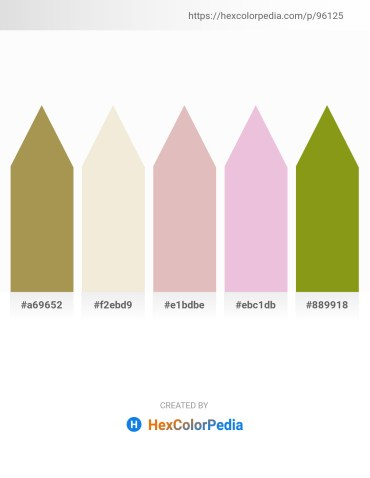 Palette image download - Dark Khaki – Beige – Thistle – Plum – Olive Drab