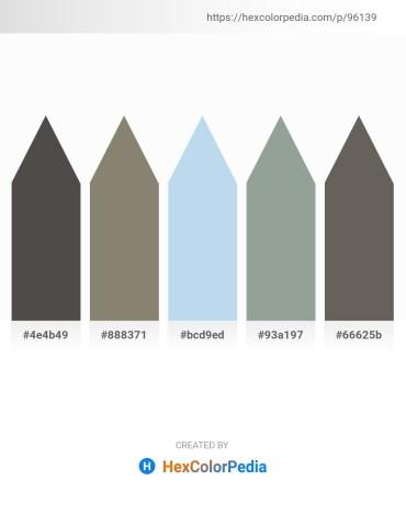 Palette image download - Dim Gray – Gray – Light Blue – Dark Sea Green – Dim Gray