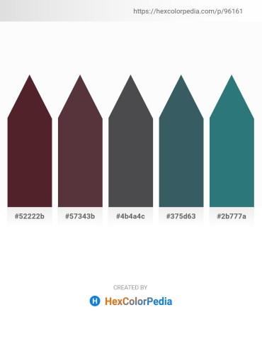 Palette image download - Saddle Brown – Orange – Dark Slate Gray – Dark Slate Gray – Gold
