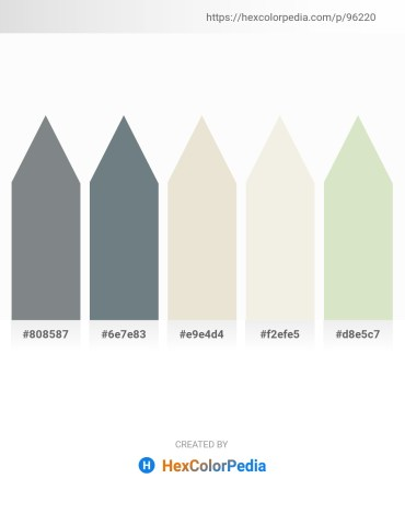 Palette image download - Slate Gray – Slate Gray – Beige – Beige – Beige