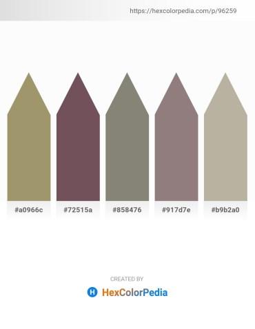 Palette image download - Dark Khaki – Dim Gray – Gray – Gray – Violet