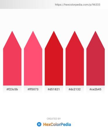 Palette image download - Tomato – Tomato – Crimson – Crimson – Firebrick
